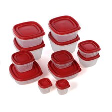 24-Piece Food Storage Container Set