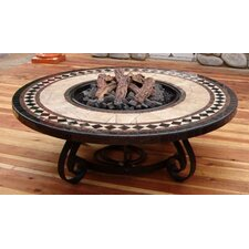 Traditional Style Fire Pit Table