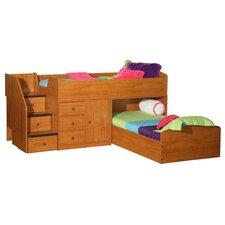 Sierra Twin L-Shaped Bunk Bed