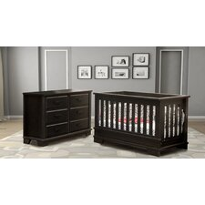 Alpine Nursery 6 Drawer Double Dresser