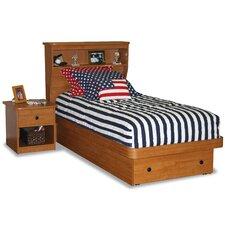 Sierra Twin Platform Bed with Storage