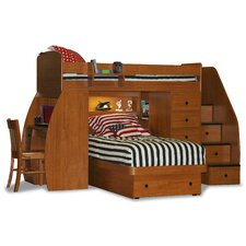 Sierra Twin L-Shaped Bunk Bed with Storage