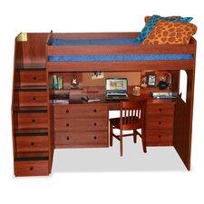 Utica Loft Bed with Storage