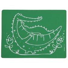 Meal-Mat Crocodile Cuddles Placemat