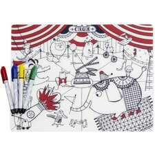 Mark-Mat Circus Placemat
