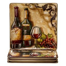 Tuscan View Dinner Plate (Set of 4)