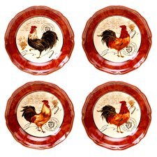 Tuscan Rooster Soup / Pasta Bowl (Set of 4)