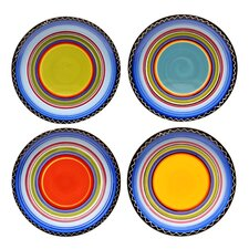 Tequila Sunrise Dinner Plate (Set of 4)