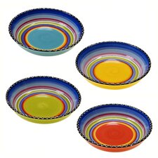 Tequila Sunrise Soup / Pasta Bowl (Set of 4)