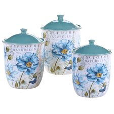 Tuileries Garden 3-Piece Canister Set