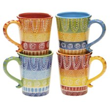 Tapas 18 oz. Coffee Mug (Set of 4)
