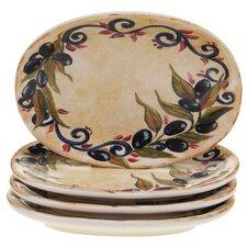 "Umbria 6.5"" Canape Plate (Set of 4)"