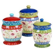 Anabelle 3-Piece Canister Set