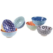 Mix and Match Chelsea 6 Piece Bowl Set