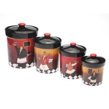 Bistro 4-Piece Canister Set