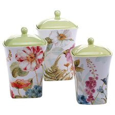 Rainbow Seeds 3 Piece Canister Set