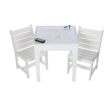 Kids Writing Table with Erasable Top