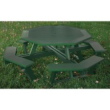 "Greenwood Octagon 54"" Picnic Table"