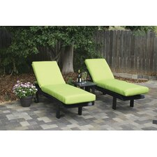 Avalon Outdoor Sunbrella Lounge Chair Cushion