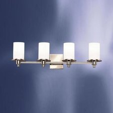 Modern 4 Light Vanity Light
