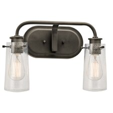 Braelyn 2 Light Bath Vanity Light