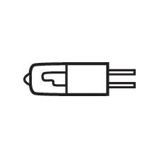 Bi Pin Xenon Bulb (Set of 10)