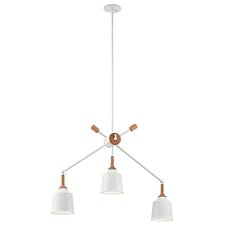 Danika 3 Light Linear Chandelier