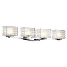 Bazely 4 Light Wall Mount Bathroom Light