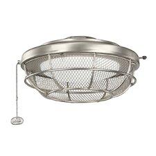 Industrial 3 Light Bowl Ceiling Fan Light Kit
