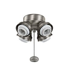 4 Light Branched Ceiling Fan Light Kit