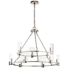 9 Light Candle Chandelier