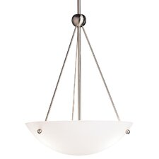 Family Spaces 3 Light Inverted Pendant