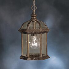New Street 1 Light Outdoor Hanging Lantern