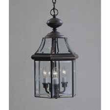 Embassy Row 3 Light Outdoor Hanging Lantern