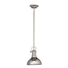 Fresnel 1 Light Mini Pendant