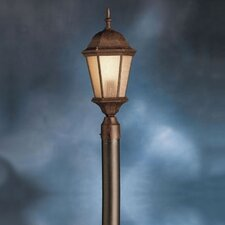 "Cast Aluminum 1 Light 96"" Outdoor Post Lantern Set"