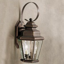 Savannah Estates 2 Light Outdoor Wall Lantern
