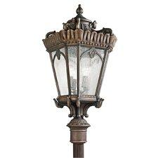 Tournai 4 Light Post Light