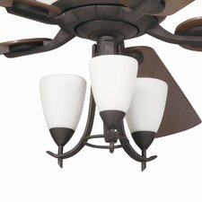 Olympia 3 Light Branched Ceiling Fan Light Kit