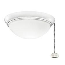 Low Profile 2 Light Bowl Ceiling Fan Light Kit