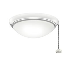 Low Profile Bowl Ceiling Fan Light Kit