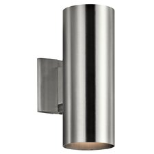 2 Light Outdoor Sconce