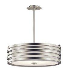 Roswell 4 Light Drum Pendant