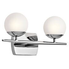 Jasper 2 Light Bath Vanity Light