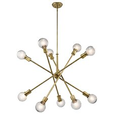 Armstrong 10 Light Chandelier