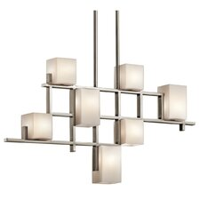 City 7 Light Chandelier