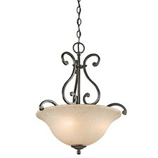 Camerena 3 Light Inverted Pendant