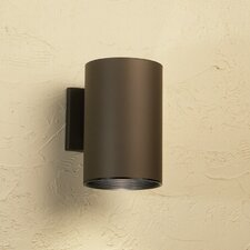Cans and Bullets 1 Light Outdoor Sconce