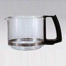 """Glaskrug für Kaffeeautomat """"Aroma Cafe5"""" 183 in Schwarz"""