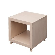 Retro Cubic End Table